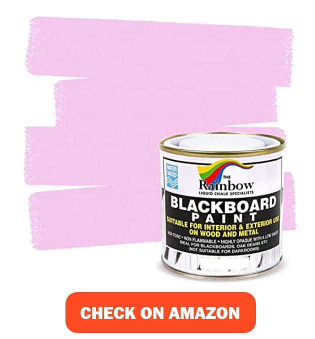 Chalkboard Blackboard Paint - Pink 8.5oz