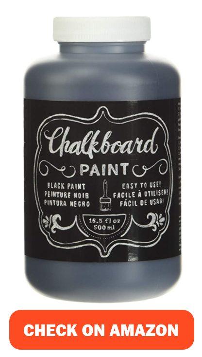 DIY Shop Chalkboard Paint