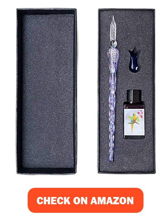 ESSSHOP Glass Dip Pen