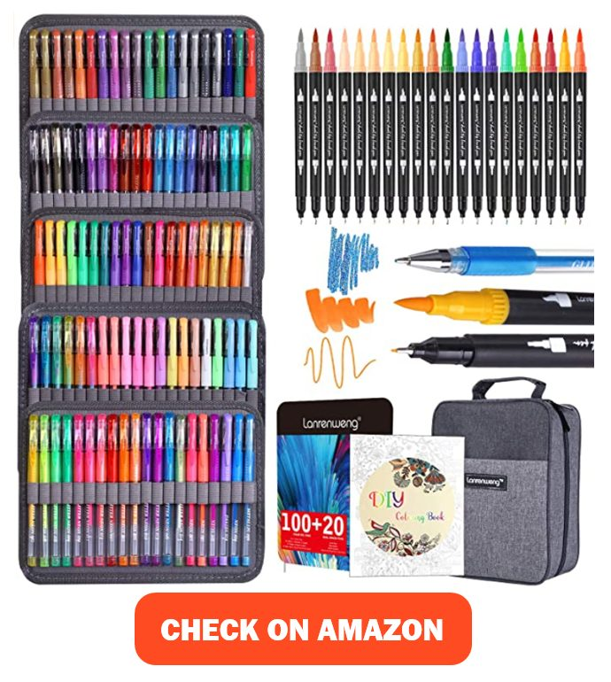 the best gel pens for coloring