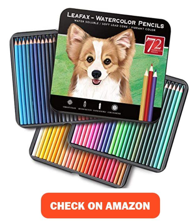 LEAFAX Watercolor Pencils