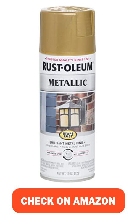 Rust-Oleum 7270830 Stops Rust Metallic Spray Paint