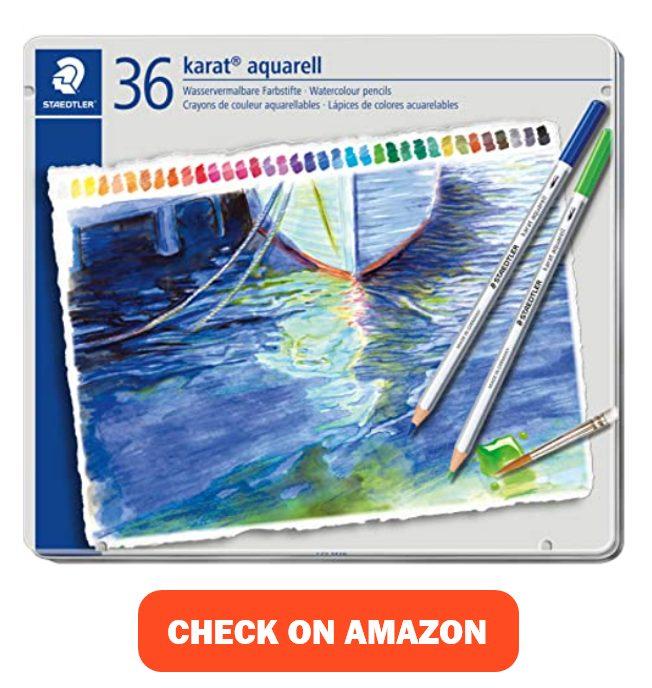 Set 125 M36 36 Colors Staedtler Dilshan Watercolor Pencil
