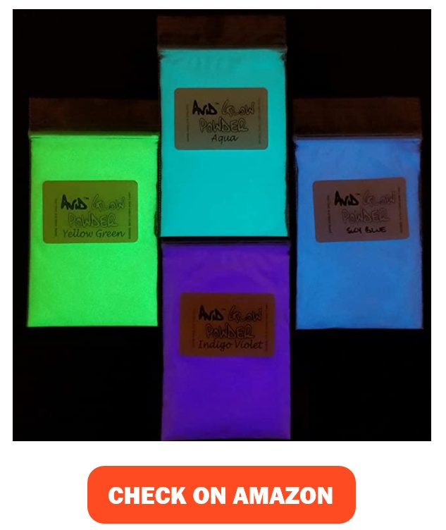 THE AVID COLORIST- Glow Powder Pigment- 4 Color Neutral in Daylight Pack