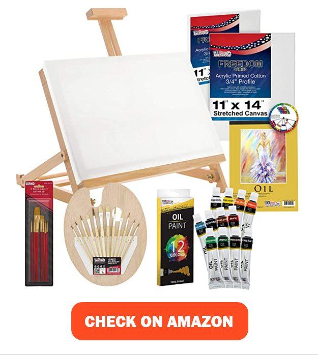 U.S. Art Supply Oil Paint Colors