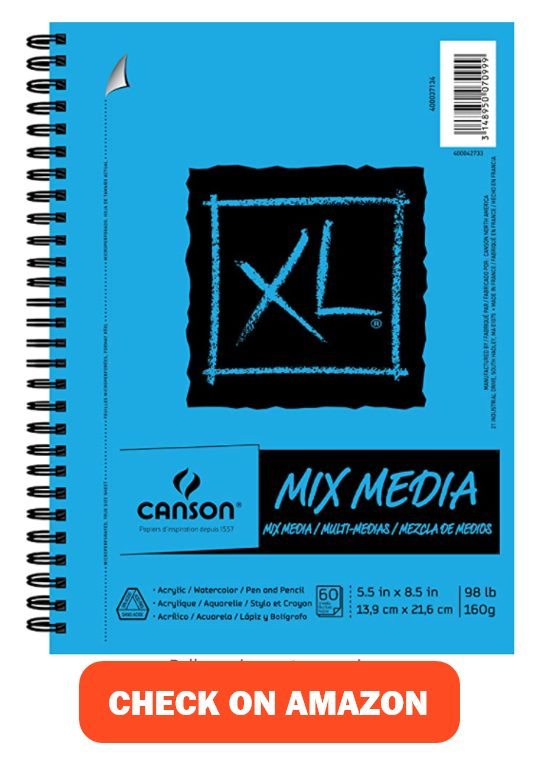 Canson XL Series Mix Paper Pad