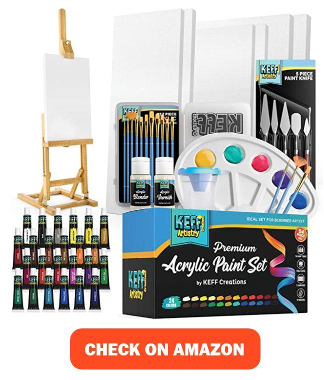 KEFF Creations Acrylic Paint Set