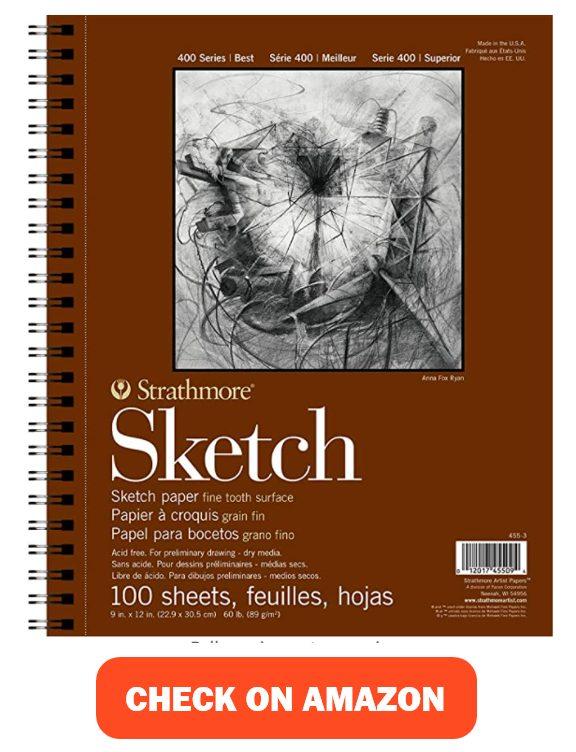 Strathmore 455-3, 400 Series Sketch Pad