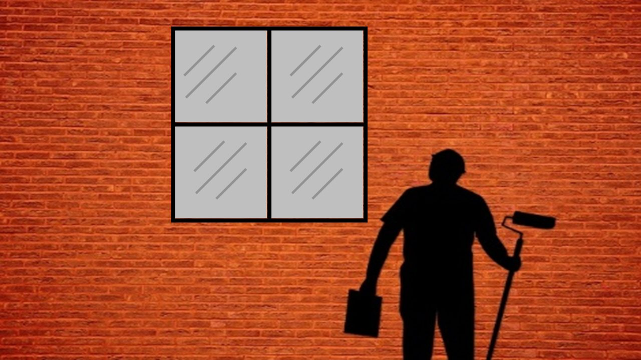 how to paint glass windows